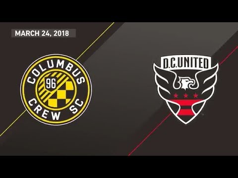HIGHLIGHTS: Columbus Crew SC 3-1 D.C. United | March 24, 2018