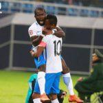 PHOTOS: Explosive Frank Acheampong bags HAT-TRICK as Tianjin Teda edge Tianjin Quanjian in Chinese Super League