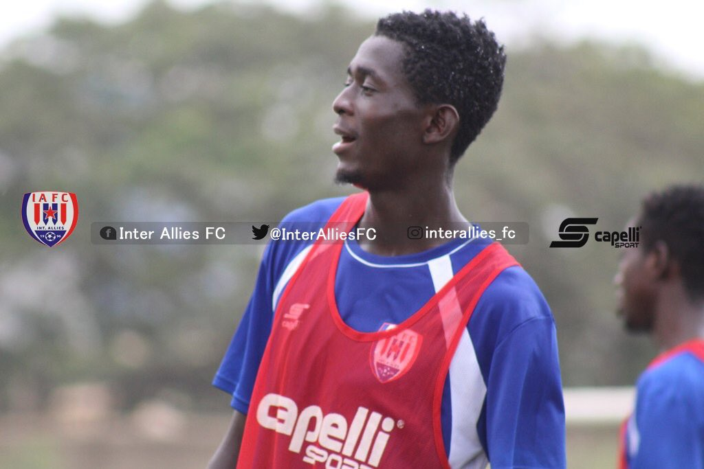 Defender Maxwell Ansah renews Inter Allies contract