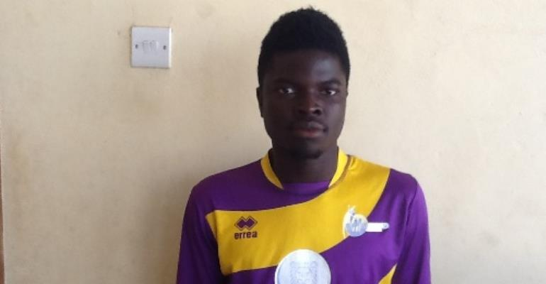 Medeama winger Jacob Apau returns to club after three-year absence