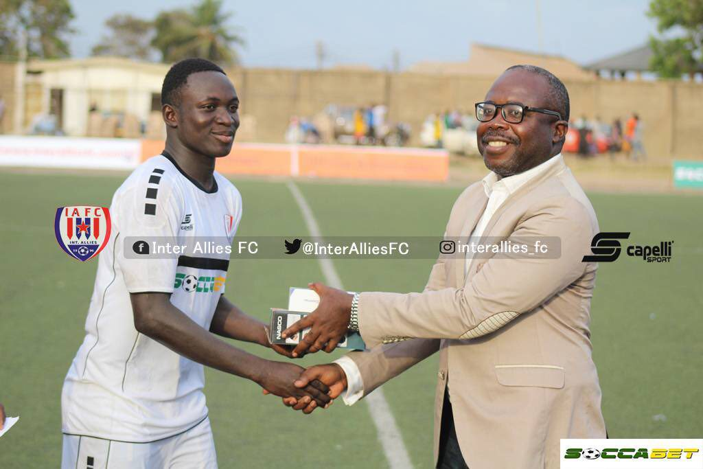 Kenichi Yatsuhashi lavishes praises on BRACE hero Victorien Adebayor after Bechem win