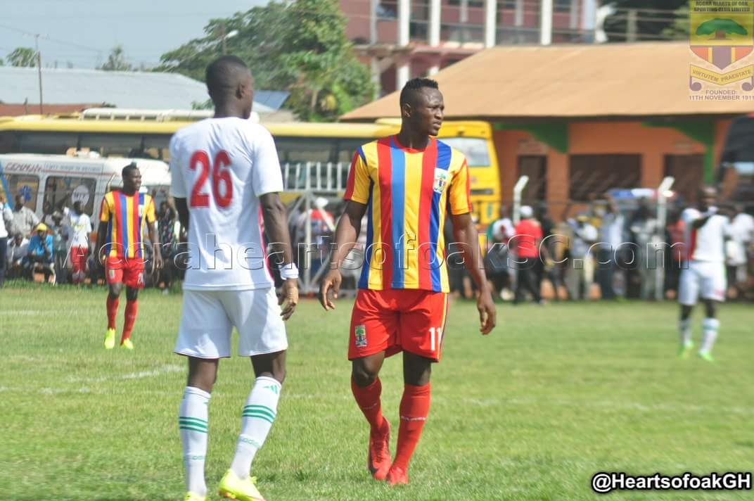 VIDEO: Watch highlights of Hearts of Oak's 1-1 stalemate with Techiman Eleven Wonders