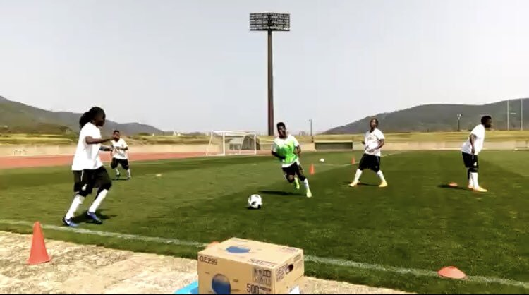 Photos: Black Queens train in Nagasaki ahead of Japan friendly