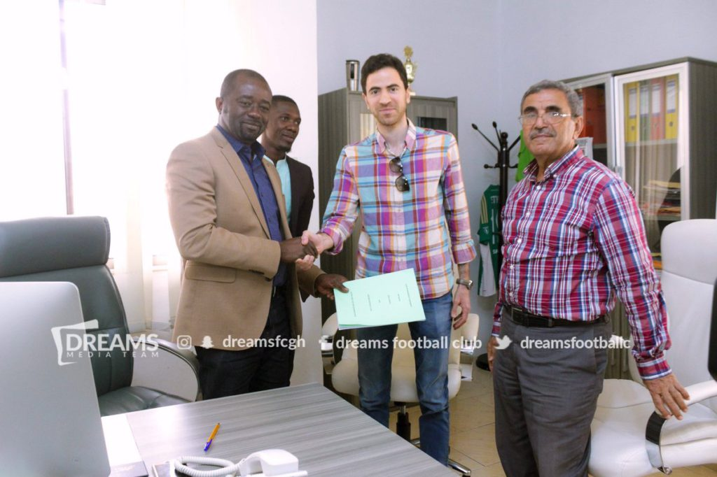 Dreams FC renew partnership with Ezzy Paints