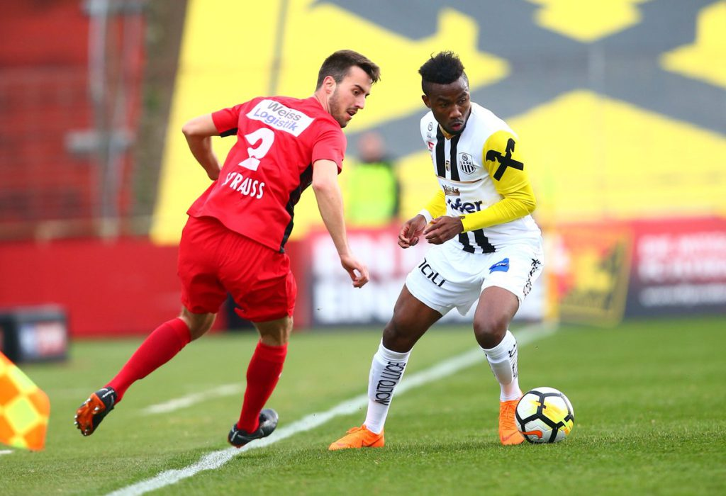 Samuel Tetteh powers LASK Linz to victory in Austrian Bundesliga