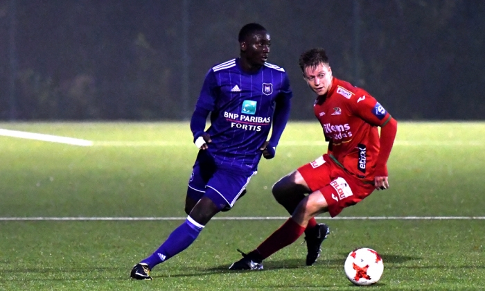 Mohammed Dauda scores BRACE in Anderlecht 4-1 drubbing of KV Oostende in Reserves League