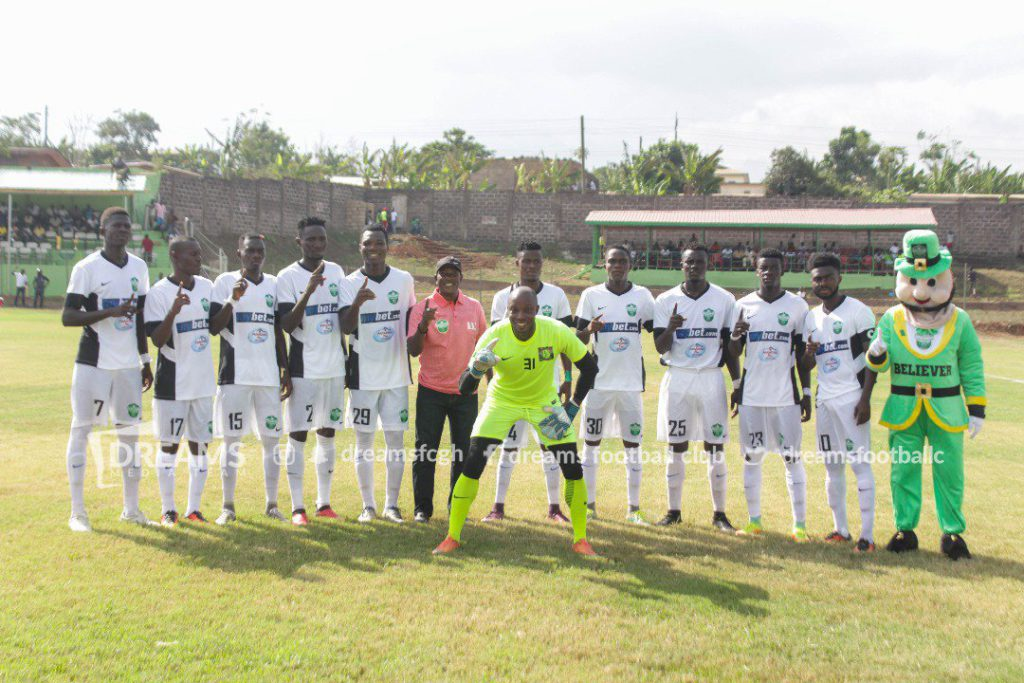 Dreams FC midfielder Patrick Arthur eyes Wa All Stars scalp in Cape Coast