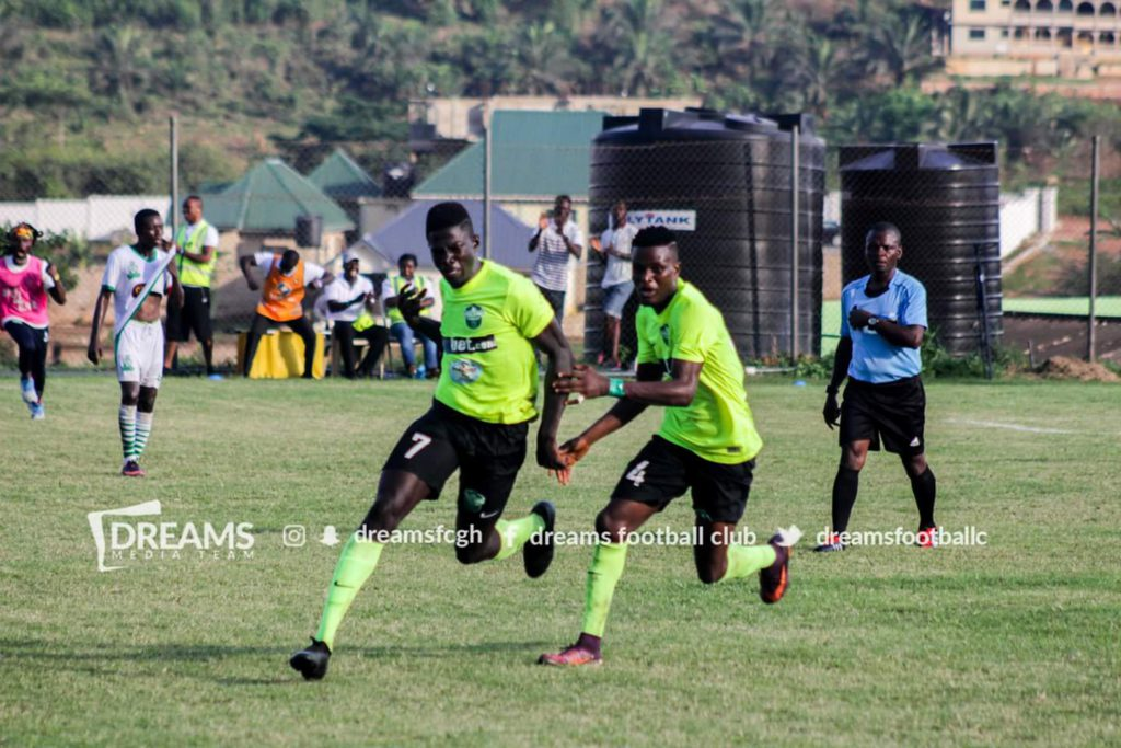MATCH REPORT: Dreams FC 1-0 Elmina Sharks - Sharani's late strike wins day for Still Believe lads
