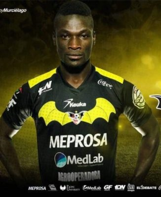 Francis Afriyie recovers from last week's own goal heartbreak to fire Murcielagos FC to victory
