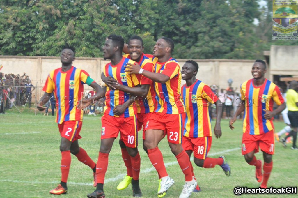 Match Report: Hearts of Oak 3-1 Wa All Stars - Phobians bounce back to winning ways against Northen Blues