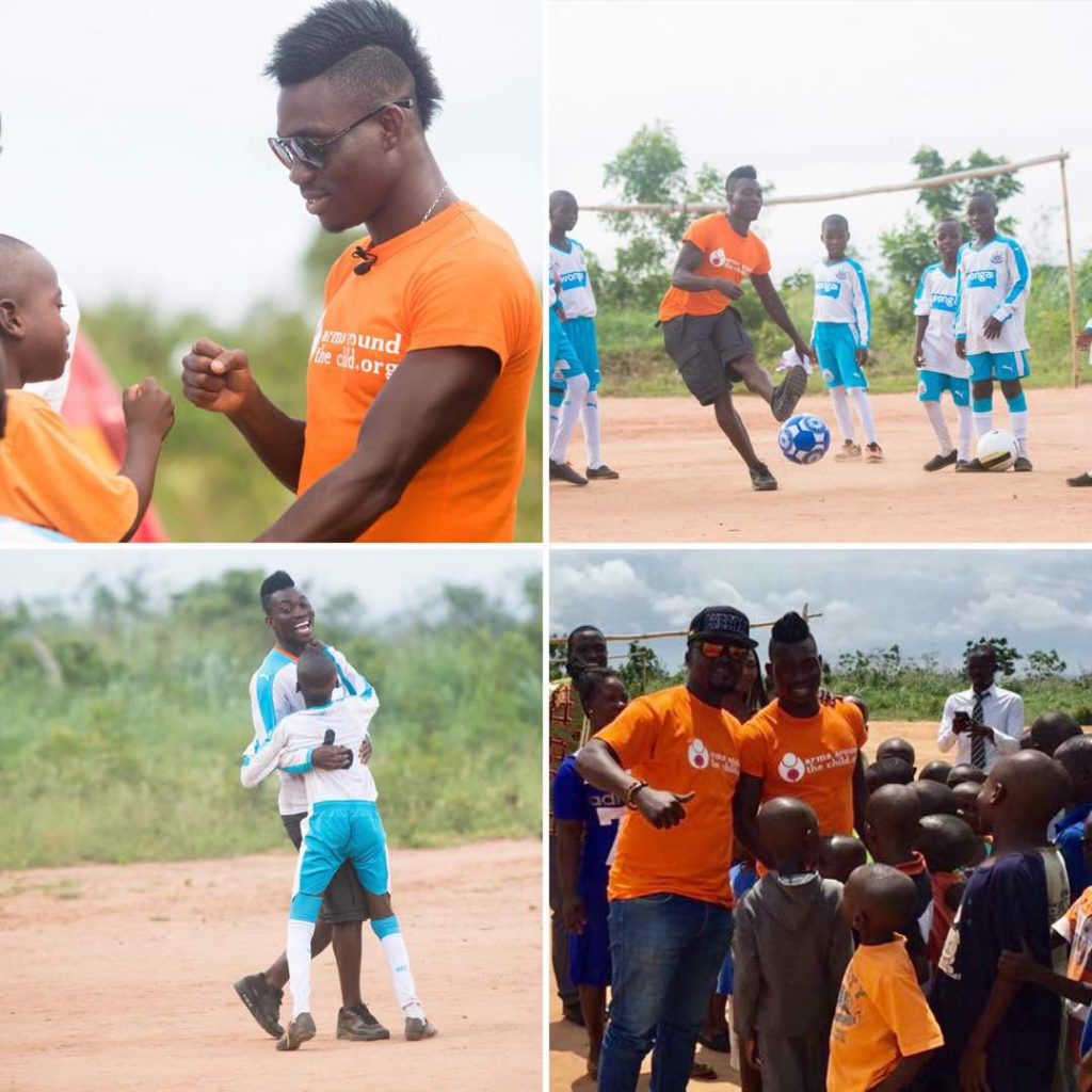 Newcastle star Christian Atsu and Arms Around The Child charity to host Black Stars gala