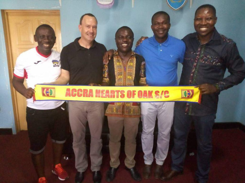 Hearts of Oak agree mega deal with Happy Man Bitters