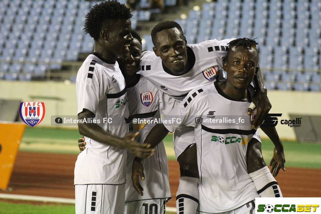 Match Report: Inter Allies 2-0 Ebusua Dwarfs - Capelli Boys show no mercy to sinking Dwarfs