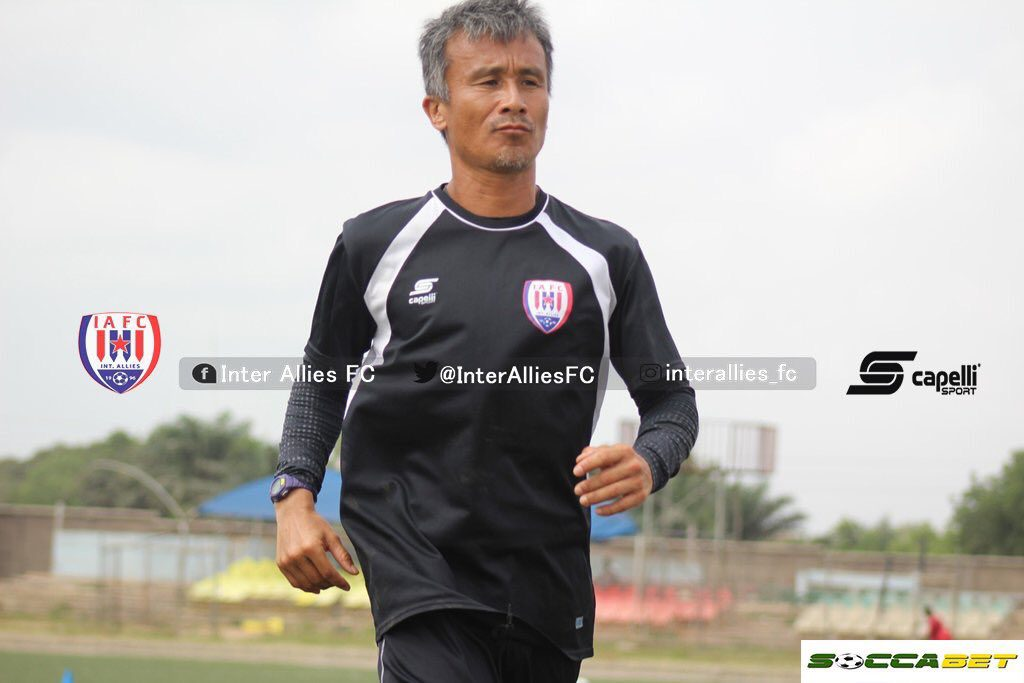 Kenichi Yatsuhashi insists Inter Allies will stick to their tactics ahead of Dreams FC clash