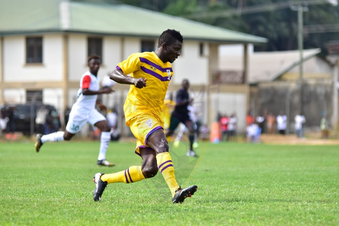 Match Report: Medeama 2-1 Aduana Stars - Kwesi Donsu brace helps Mauves go top of table