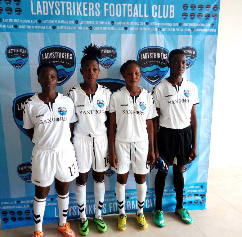 Lady Strikers unveil FOUR new players ahead of start of National Women's League