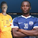 Accra Lions FC duo Fredrick Asare and Mohammed Lamine start training with Ghana U20