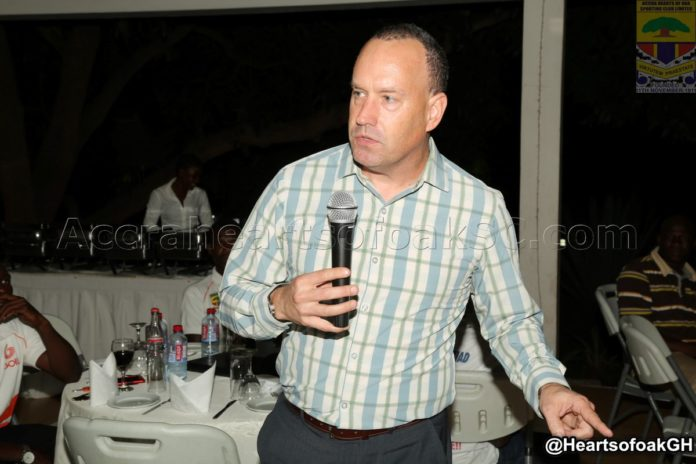 Mark Noonan coy to comment on officiating against Hearts of Oak