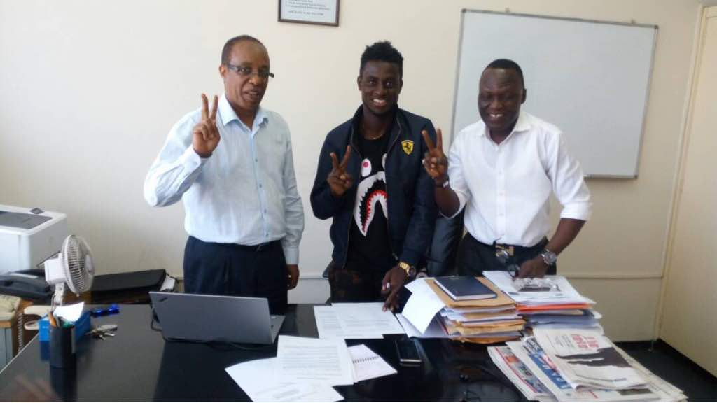 Ex-Cheetah FC striker Richard Appiah joins Ethiopian side Saint Georges on loan