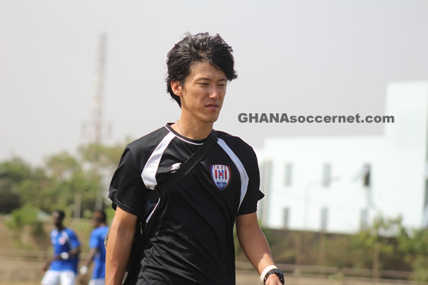 Ghana Premier League side Inter Allies hire Japanese physiotherapist Yamada Tetsuo