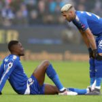 Ghana defender Daniel Amartey out for a month after hamstring injury