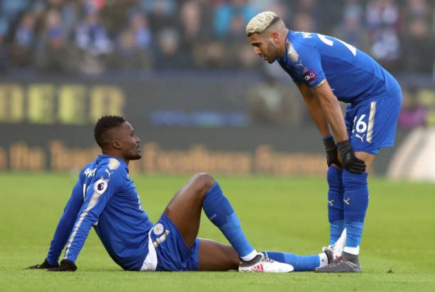 Ghana defender Daniel Amartey out for a month after hamstring injury