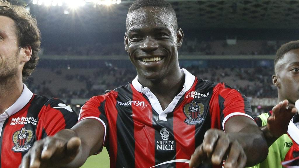Ghanaian-born Italian star Mario Balotelli scores landmark 3000th goal for Nice