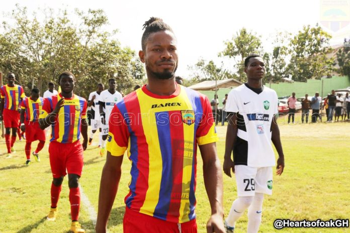 VIDEO: Fit-again Benjamin Agyare resumes Hearts of Oak training
