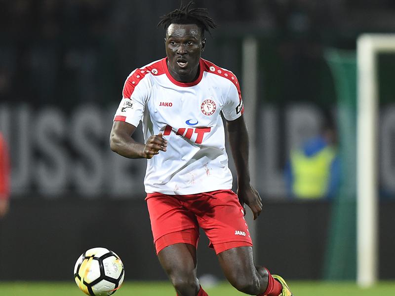 Ghanaian defender Bernard Mensah receives red card in Fortuna Koln defeat at Erfurt
