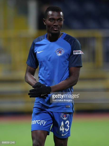 Bernard Mensah receives red card in Kasimpasa defeat against Antalyaspor