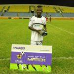 Inter Allies star Baffour Gyawu revels in man of the match award