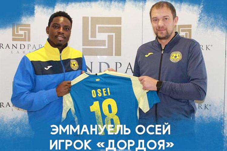 Former Asante Kotoko striker Osei Carlos joins Kyrgyzstani side Dordoi Bishkek