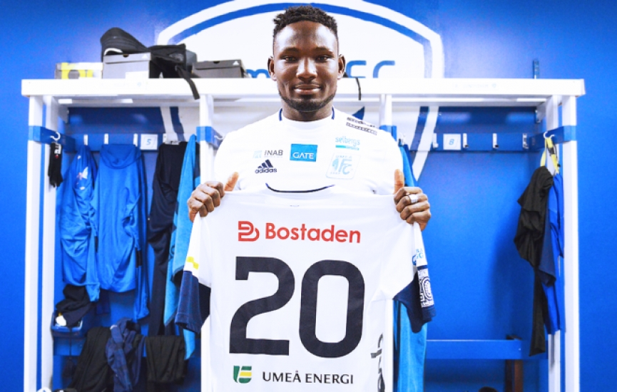 Emmanuel Yeboah joins Swedish side Umeå FC