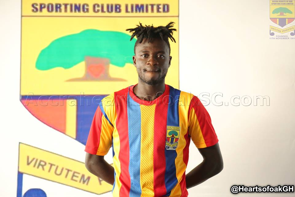 I feel proud of the Hearts colours- Fatawu Mohammed eulogizes club after contract extension