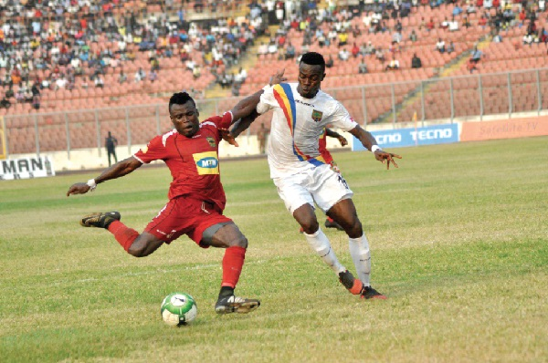 Asante Kotoko striker Fredrick Boateng insists his job is to score goals