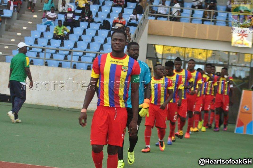 Friendly Match Report: Hearts of Oak 0-1 Elmina Sharks- Late Benjamin Tweneboah goal gives Sharks spoils