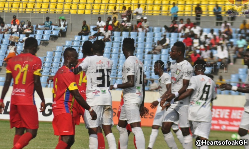 Hearts of Oak line-up two cracking friendly games against Vision FC and Dreams FC after league postponement