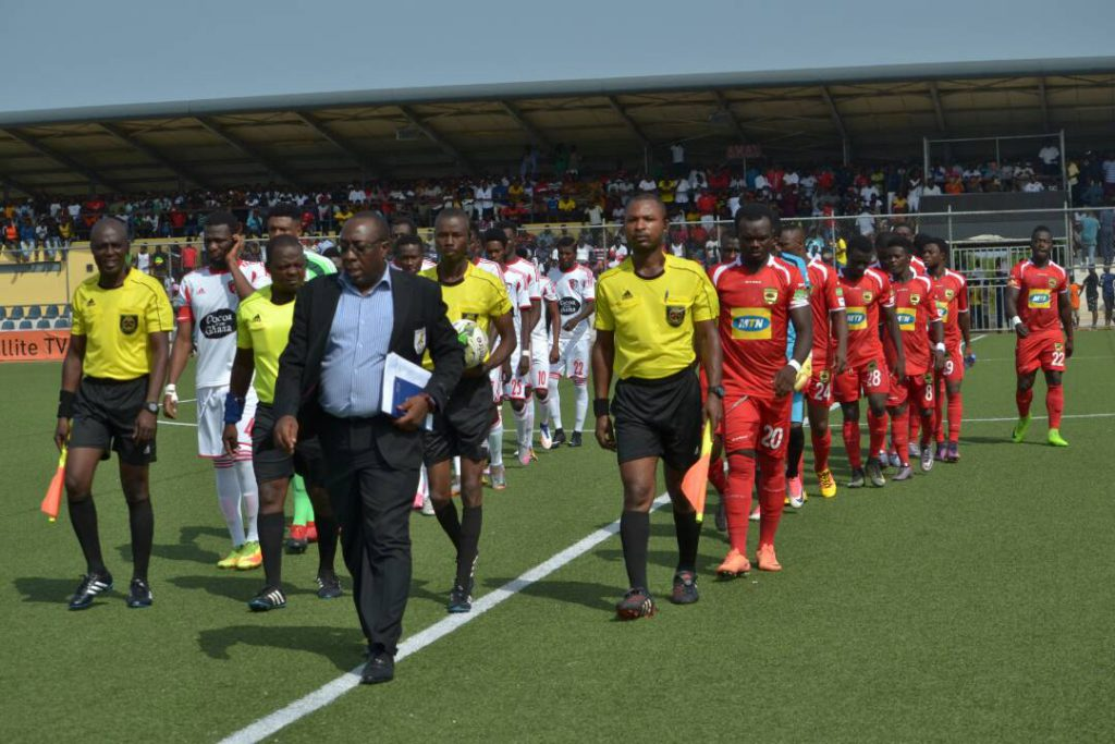 Asante Kotoko coach Samuel Fabin delighted with team's performance in WAFA draw