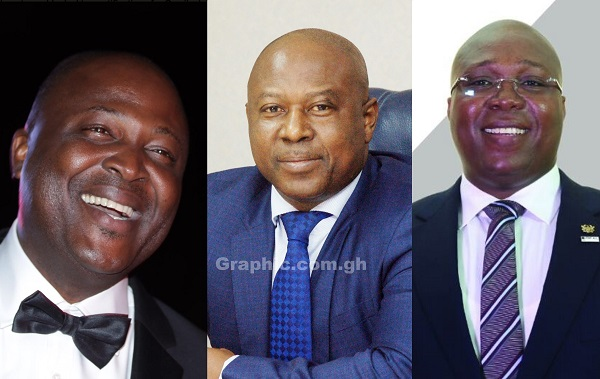 Issahaku, Ibrahim Mahama and Kotei Dzani - Meet the wealthy owners of Tamale City FC