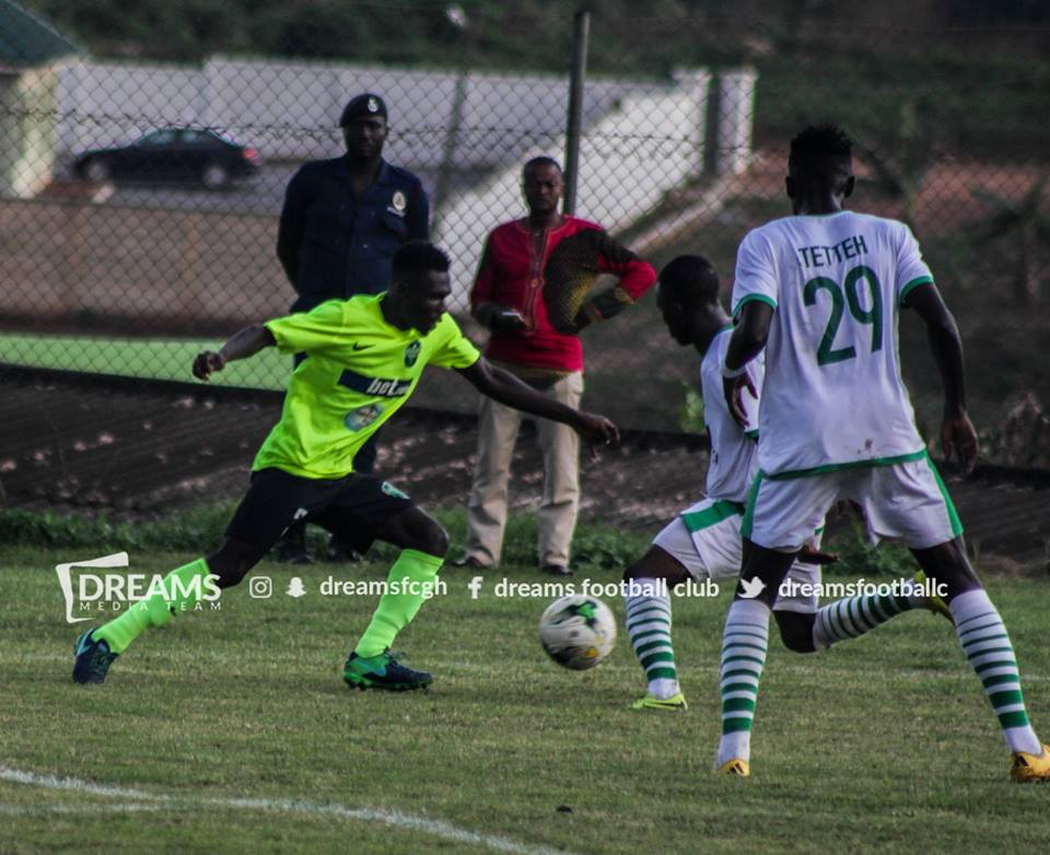 Dreams FC youngster Samuel Pimpong revels in Ghana Premier League debut