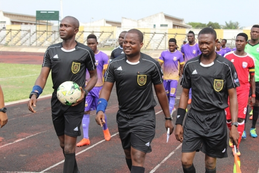 Match officials announced for opening Ghana Premier League matches