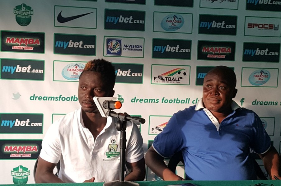 Richard Mpong hopes to lead Elmina Sharks to top four finish