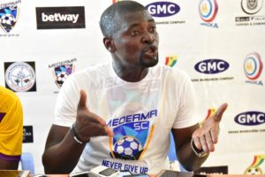 Medeama SC coach Samuel Boadu plays down GPL title hopes