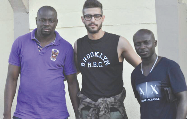 Egyptian player Hassan Mahmoud Mohammed Maghribi on trial at AshantiGold