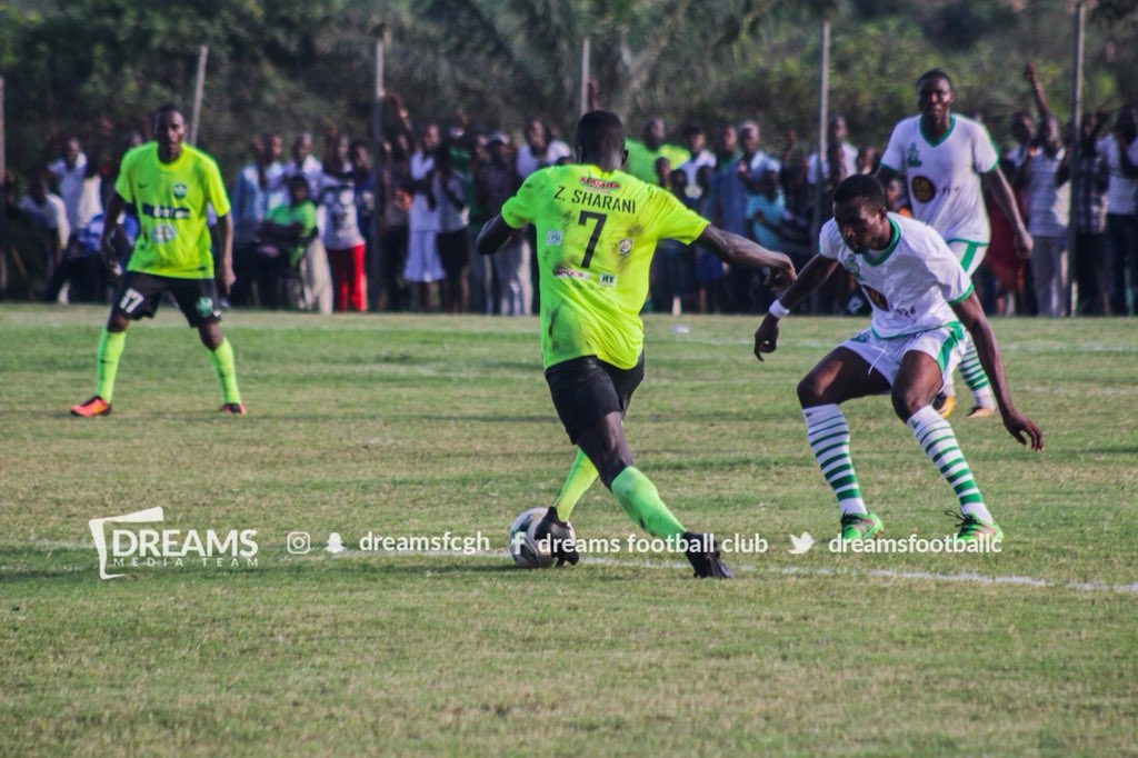 Dreams FC\'s Sharani Zubeiru targets goal king crown after superb display against Wa All Stars