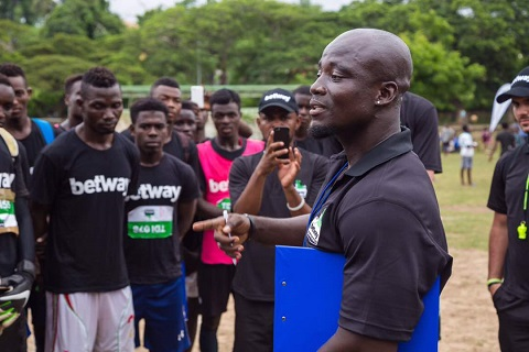 Stephen Appiah thanks Betway for supporting maiden Betway Stephen Appiah Cup