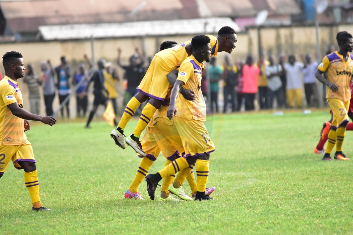PHOTOS: Sweet images from Medeama's win over Asante Kotoko