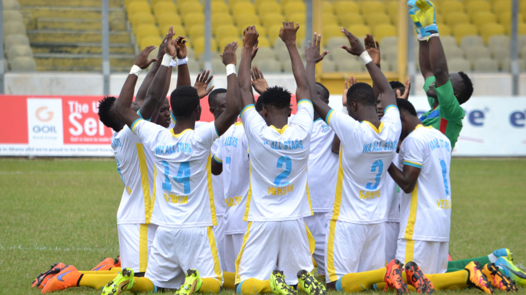 Match Report: Wa All Stars 0-0 Ebusua Dwarfs- Northerners and Crabs clash ends in dour draw
