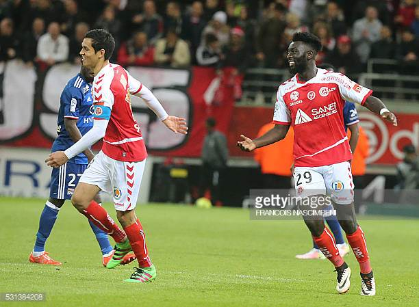 Ghanaian striker Grejohn Kyei climbs off the bench to secure Ligue 1 promotion for Stade Reims