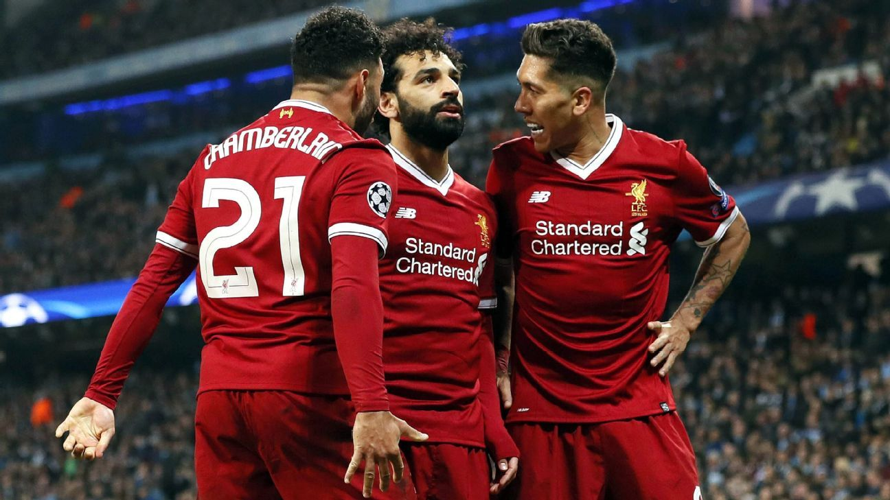 Image result for mane and salah and firmino